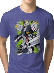 Nu Gundam Tri-blend T-Shirt