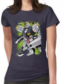 Nu Gundam Womens Fitted T-Shirt