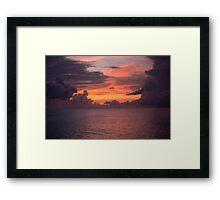 Last Light Of Day Framed Print