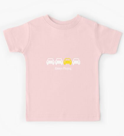Cabin Pressure - Always Playing Yellow Car Kids Tee