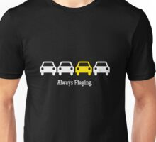 Cabin Pressure - Always Playing Yellow Car Unisex T-Shirt