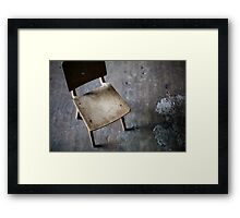 place Framed Print