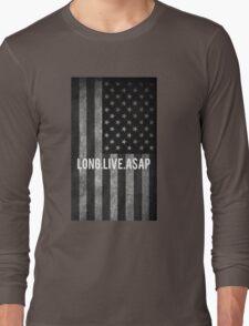ASAP ROCKY FLAG Long Sleeve T-Shirt