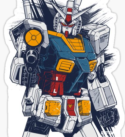 Gundam Love Sticker