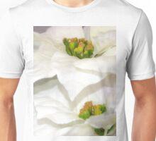 Pure Poinsettia Twins Unisex T-Shirt