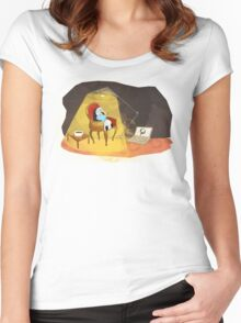 Reading Women's Fitted Scoop T-Shirt