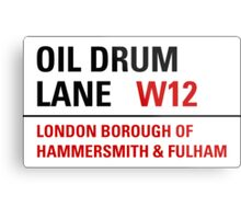 Oil Drum Lane - Steptoe & Son Metal Print