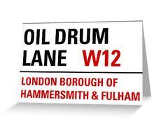 Oil Drum Lane - Steptoe & Son Greeting Card