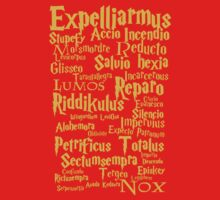Harry Potter Spells by NatalieMirosch