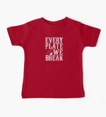 everyplatewebreak - logo Baby Tee