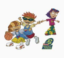 Rocket Power Basketball by theguyontheleft