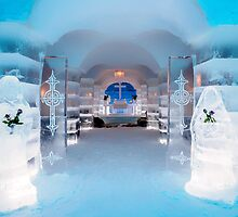 Ice Church, Sorrisniva, Norway by KarenMcDonald
