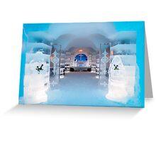 Ice Church, Sorrisniva, Norway Greeting Card