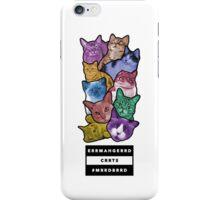 Oh My God. Cats! (ERRMAHGERRD CRRTS) iPhone Case/Skin