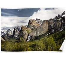 Waterfall Valley Poster