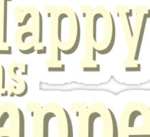 Cabin Pressure - Happy as Shappey Sticker