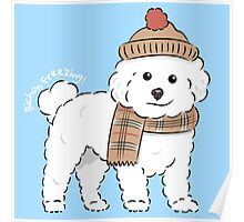 Bichon Freezing! Poster