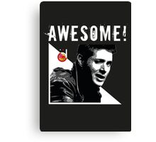 Dean Winchester from Supernatural Awesome Canvas Print