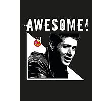 Dean Winchester from Supernatural Awesome Photographic Print