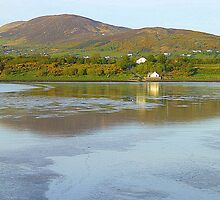 Irish Cottages In Donegal by Fara