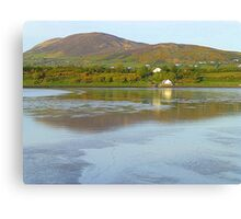 Irish Cottages In Donegal Canvas Print