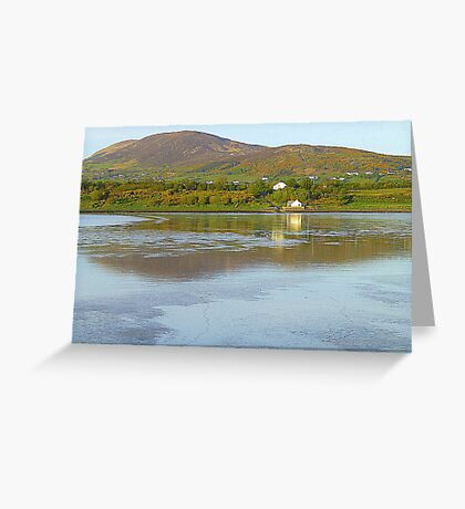 Irish Cottages In Donegal Greeting Card