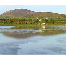 Irish Cottages In Donegal Photographic Print
