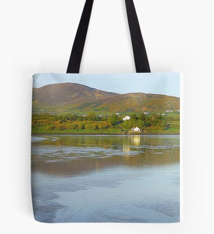 Irish Cottages In Donegal Tote Bag