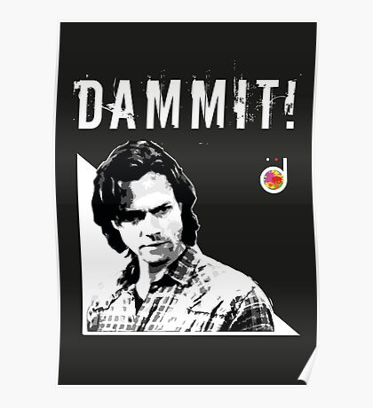 Sam Winchester from Supernatural Poster