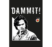 Sam Winchester from Supernatural Photographic Print