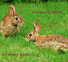 Bunnies dreaming - Happy Easter! by Evelyn Laeschke