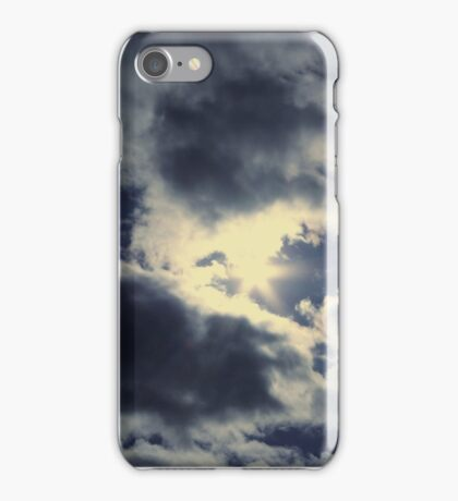 Sun in the sky iPhone Case/Skin