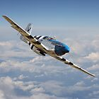 P51 Mustang - 'Symphony in Blue' by warbirds
