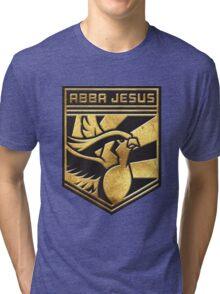 """""""ABBA JESUS!"""" Twitch Plays Pokemon Merch! Tri-blend T-Shirt"""
