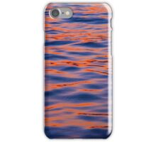 Water Ripples in Red and Blue. iPhone Case/Skin