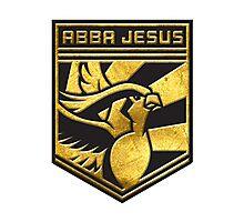 """ABBA JESUS!"" Twitch Plays Pokemon Merch! Photographic Print"