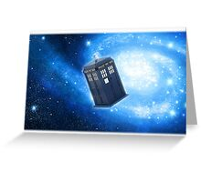 doctor who edit Greeting Card