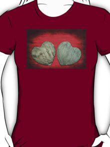 Abstract Stone Hearts T-Shirt T-Shirt