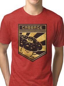 """CABBAGE!"" Twitch Plays Pokemon Merchandise! Tri-blend T-Shirt"