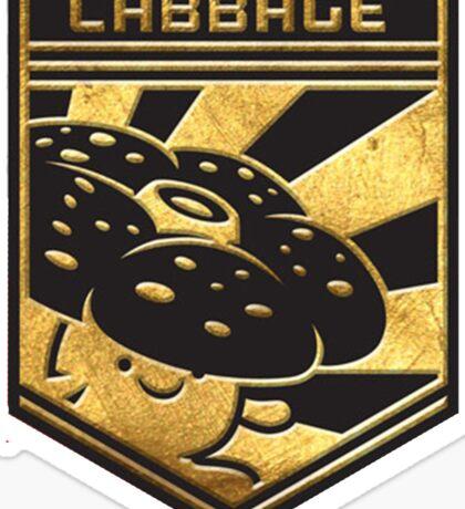 """""""CABBAGE!"""" Twitch Plays Pokemon Merchandise! Sticker"""