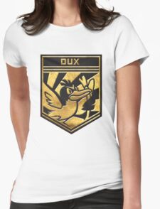 """""""DUX!"""" Twitch Plays Pokemon Merchandise! Womens Fitted T-Shirt"""