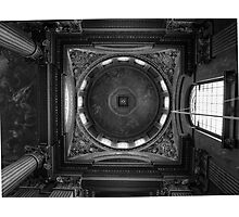 Painted ceiling Photographic Print