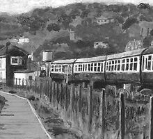 Minehead railway station. by Antony R James