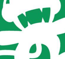 Monstercat Glitch Hop/110 BPM Color Sticker