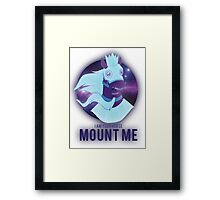 Beth's Horse, the sequel Framed Print