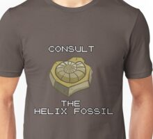 CONSULT THE HELIX FOSSIL Unisex T-Shirt