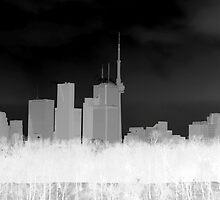 Toronto Skyline by Valentino Visentini