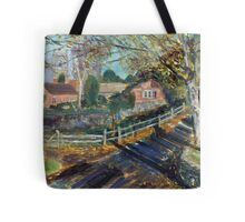 Near Brent Knoll, Somerset. Tote Bag