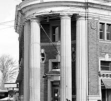 Danforth and Broadview CIBC Building by Valentino Visentini