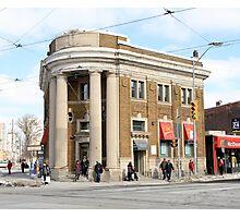 Danforth and Broadview CIBC Building Photographic Print